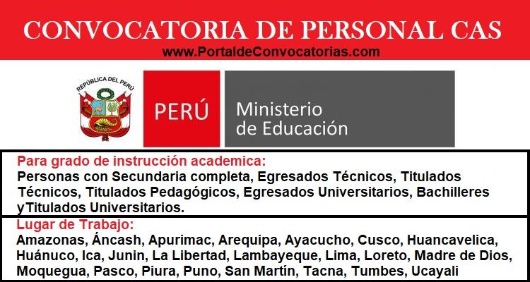 CONVOCATORIA-MINISTERIO-DE-EDUCACIÓN