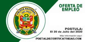 CONVOCATORIA POLICIA NACIONAL(PNP) [CAS]