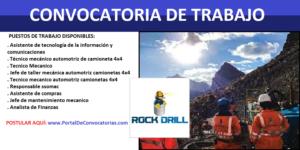 Rock Drill Cont. Civ. y Mineros S.A.C. | SETIEMBRE 2020
